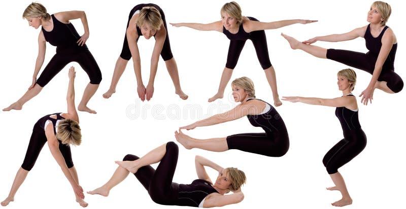 Gymnastique photos libres de droits
