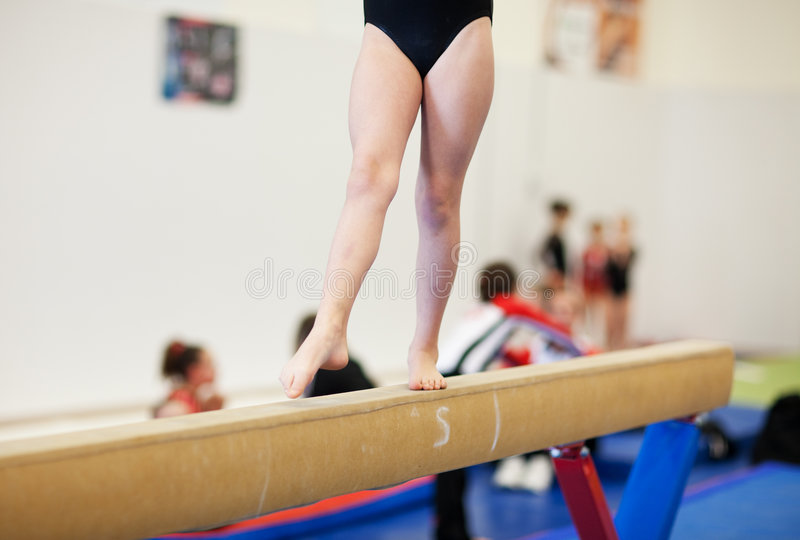 Gymnastique photo libre de droits