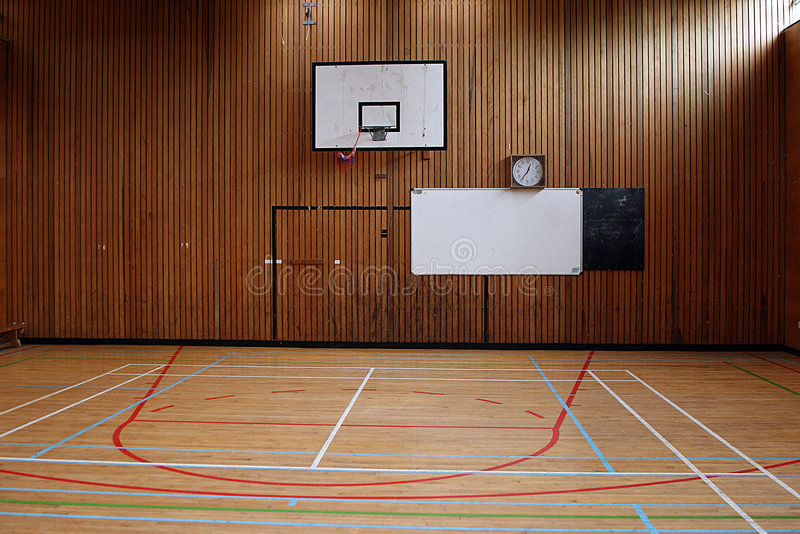 Gymnastique d'école photos libres de droits