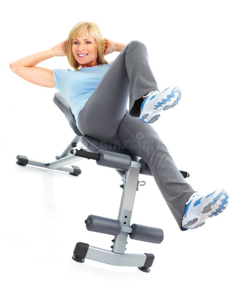 Gymnastique et forme physique photos stock