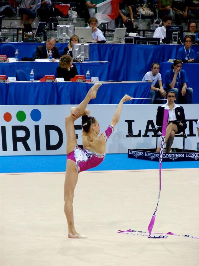 Gymnastique rhythmique images stock