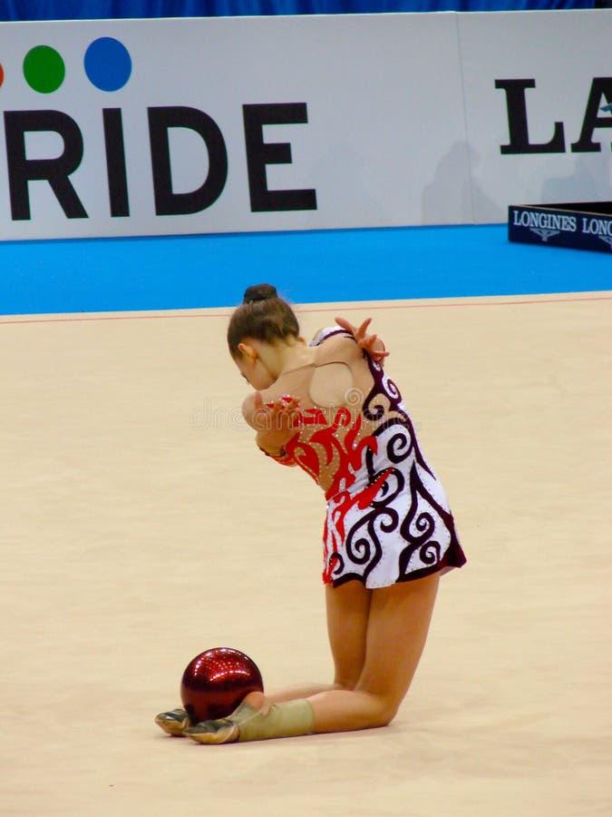 Gymnastique rhythmique image stock