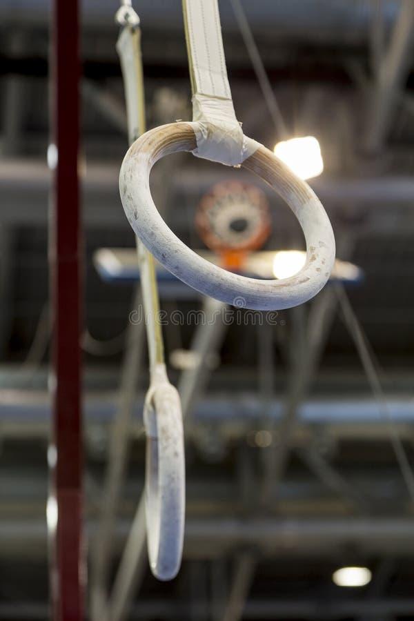 Gymnastische Ringe stockfotografie
