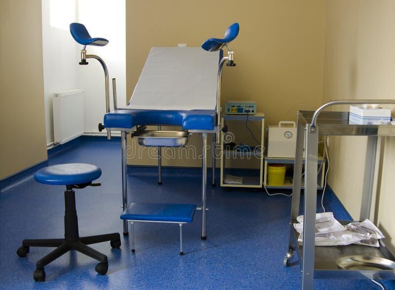 Gynecologykabinett stockbilder
