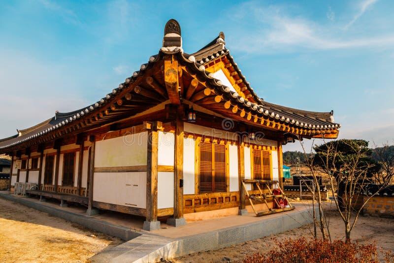 Gyochon Hanok Village Korean traditional house in Gyeongju, Korea. Gyochon Hanok Village, Korean traditional house in Gyeongju, Korea royalty free stock photos