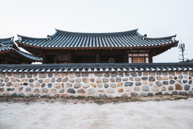 Gyochon Hanok Village, traditional house in Gyeongju, Korea. Gyochon Hanok Village, traditional architecture in Gyeongju, Korea stock photos