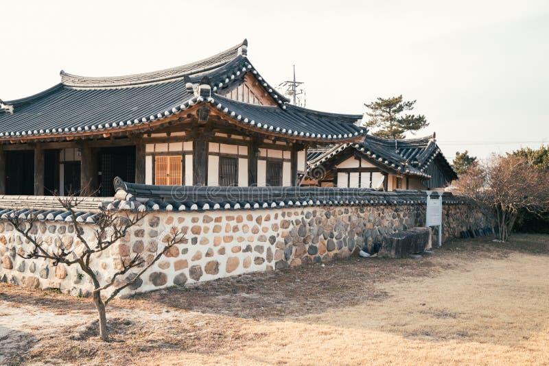 Gyochon Hanok Village, traditional house in Gyeongju, Korea. Gyochon Hanok Village, traditional architecture in Gyeongju, Korea stock image