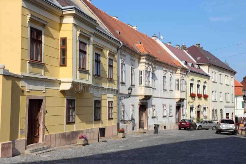 Gyor, Hongrie images libres de droits
