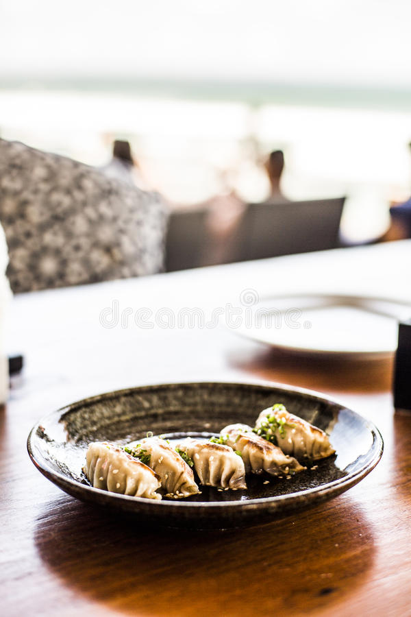 Download Gyoza stock image. Image of close, chinese, cuisine, asian - 79658481
