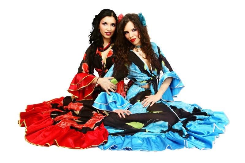 gypsies obrazy royalty free