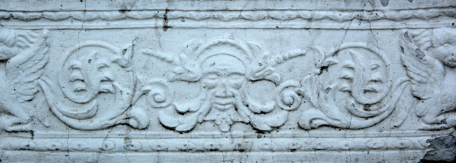 Download Gypsum bas-relief stock image. Image of drawing, rifts - 14350183