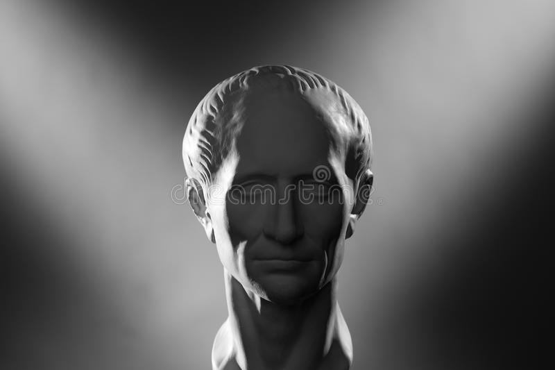 Gypsum head royalty free stock photography