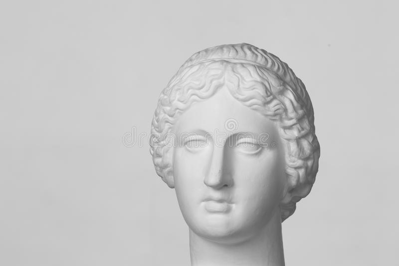 Gypsum head of Venus royalty free stock images