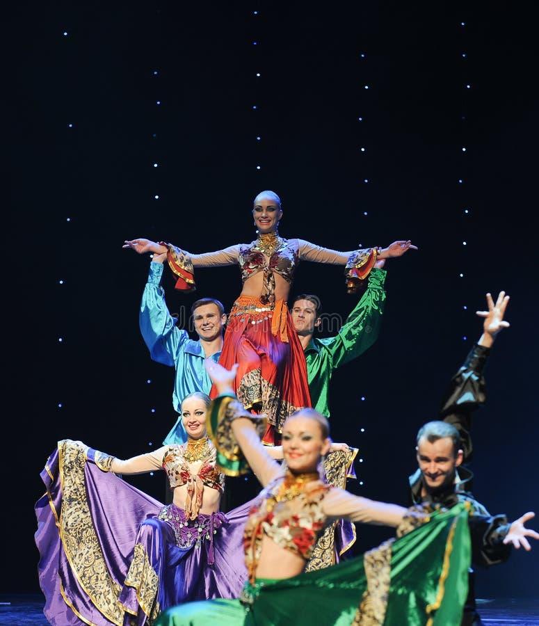 Free Gypsy Caravan-Gypsy Festival Dance-the Austria S World Dance Stock Images - 49483264