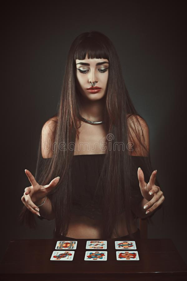 Free Gypsy Fortune Teller Royalty Free Stock Photos - 110450278