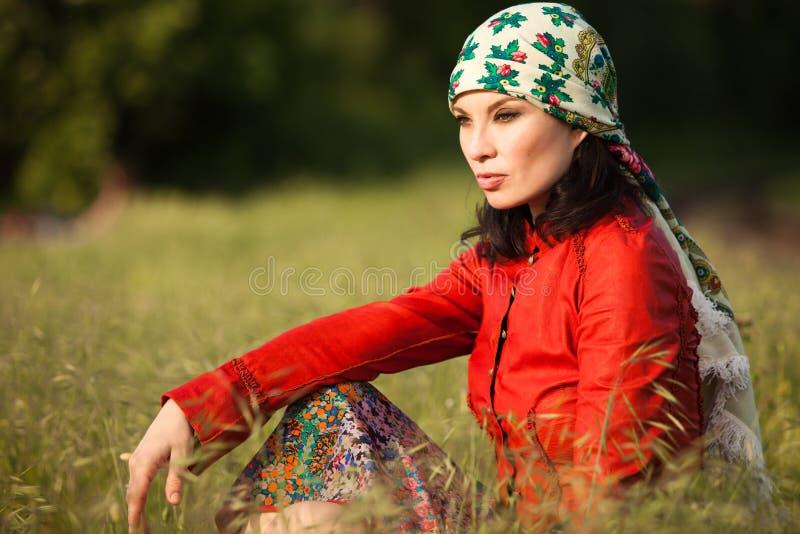 gypsy styl obraz stock
