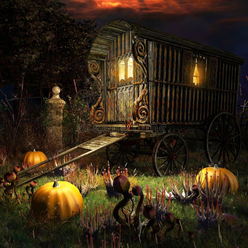 Free Gypsy Wagon Stock Photo - 60922540