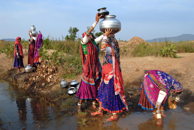 Gypsy Women in India stock photography