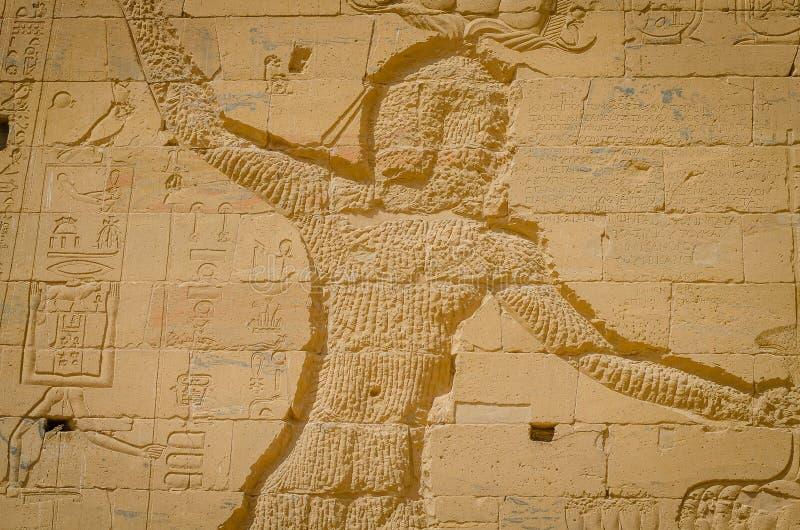 ?gypte Temple de Philae, temple d'ISIS photographie stock libre de droits