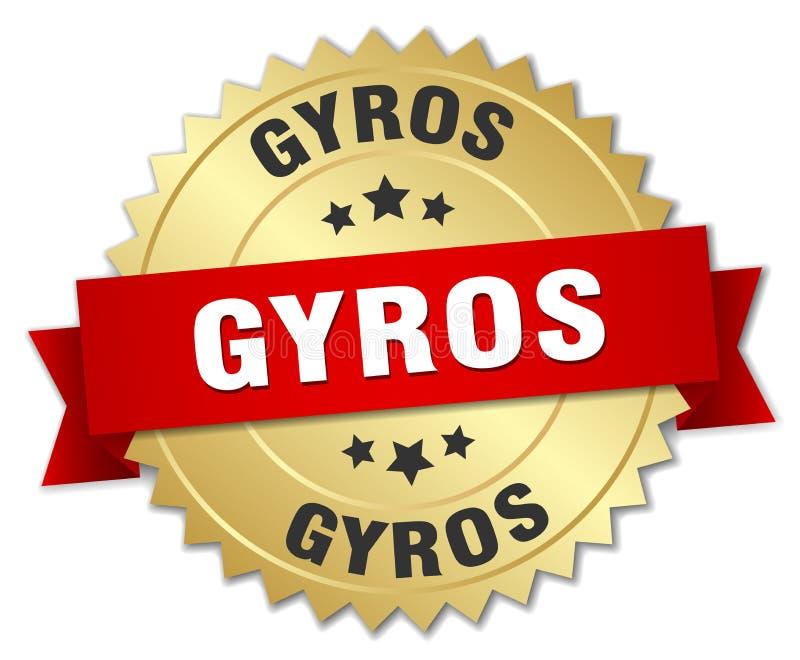 Gyros ilustracji