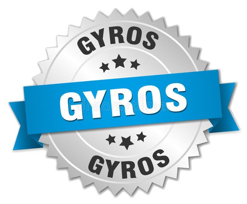 Gyros ilustracja wektor