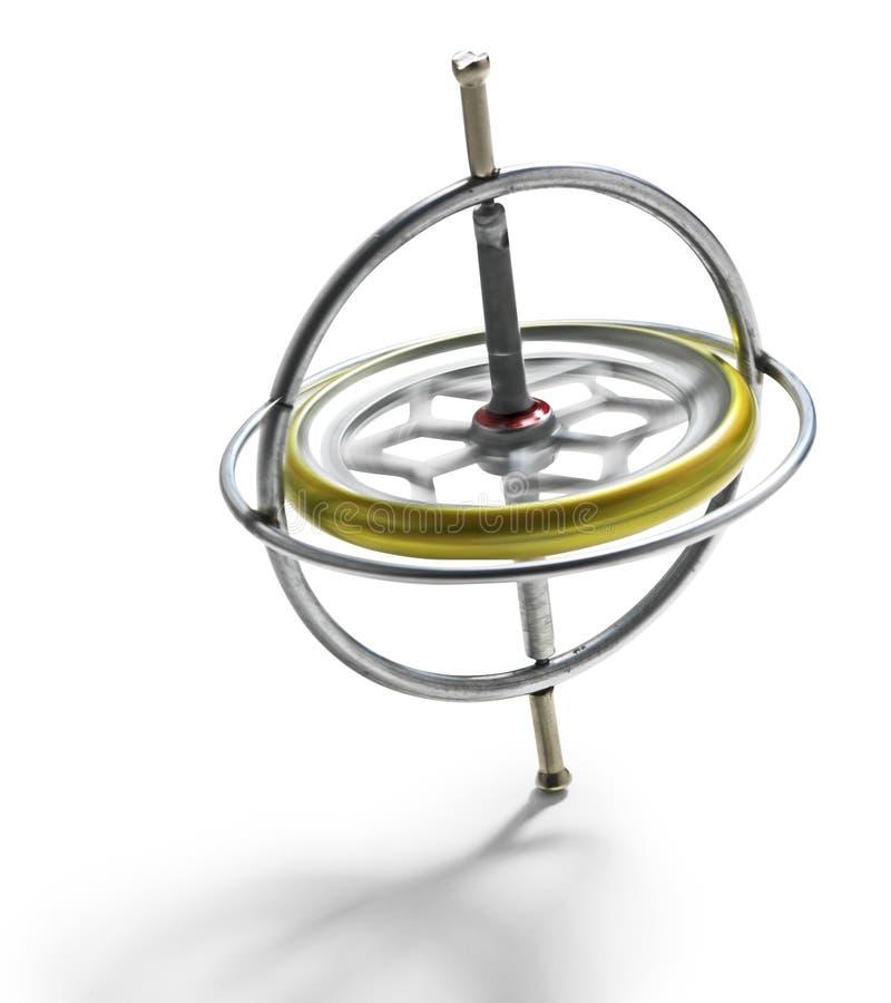 Gyroscope photographie stock libre de droits