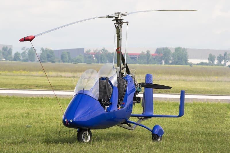 Gyrovliegtuig royalty-vrije stock afbeelding