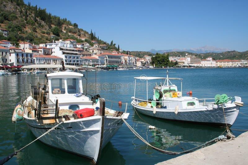Gythion - Griekenland stock foto