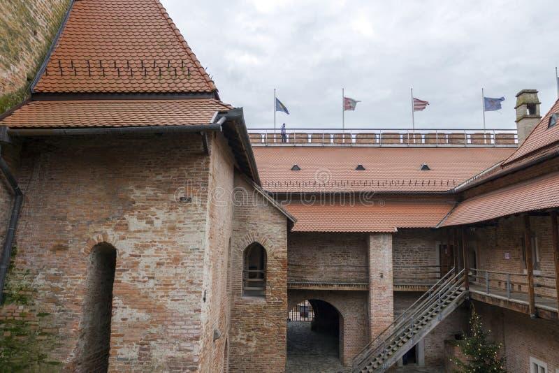 Gyula Fortress imagem de stock royalty free