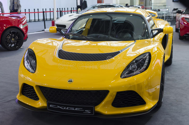 2013 GZ AUTOSHOW-Lotus Exige S photos libres de droits
