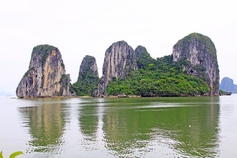 Ha Long Bay, Vietnam UNESCO World Heritage stock image