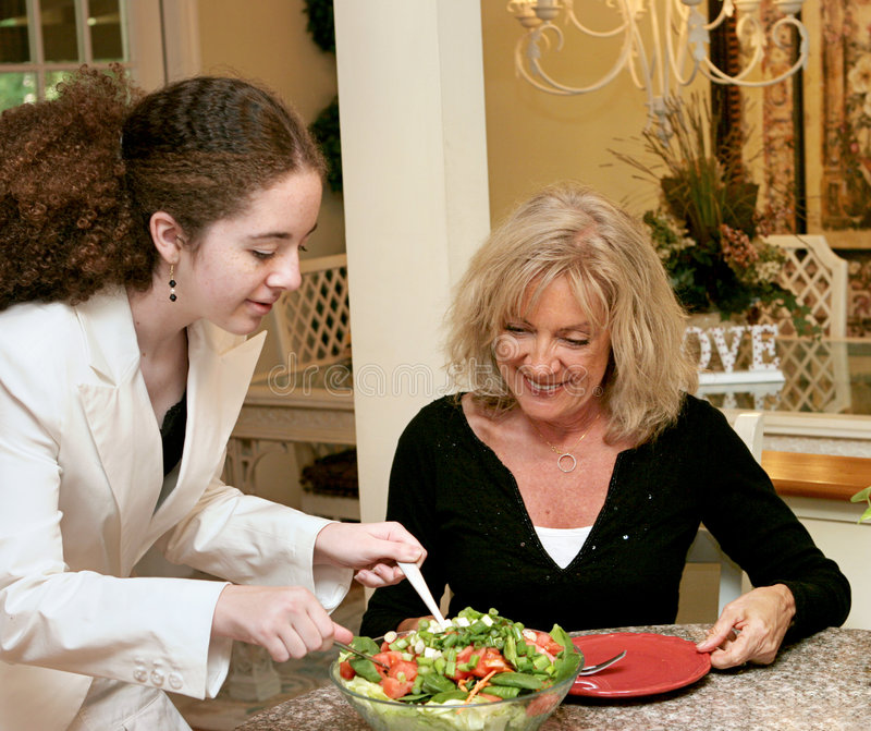 Hábitos alimentarios sanos imagen de archivo libre de regalías