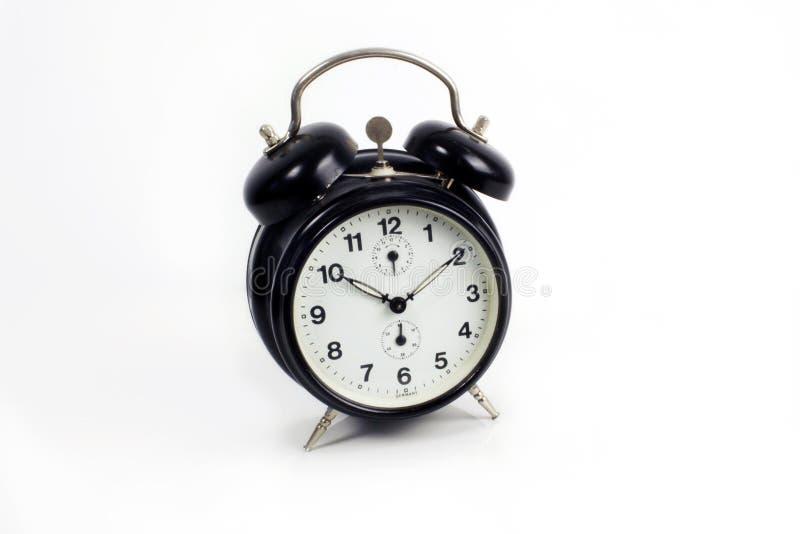 Hâte de précipitation d'horloge d'alarme image libre de droits