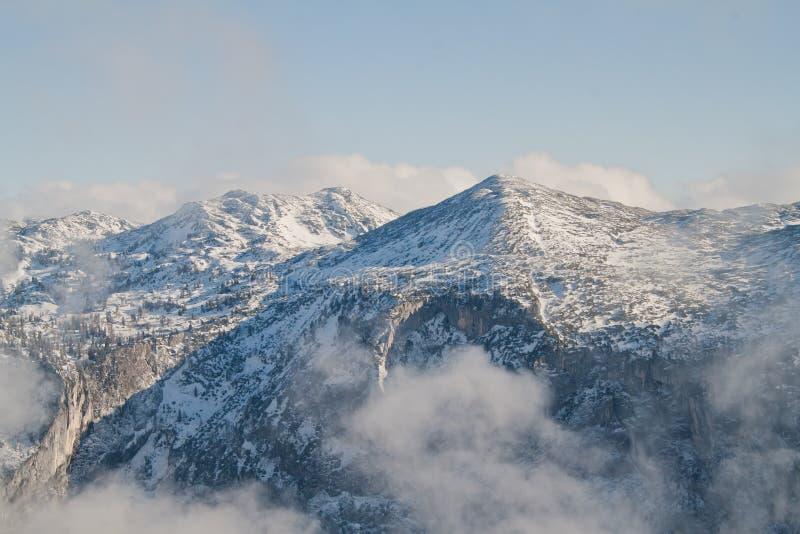 Höllwieser berg royaltyfri fotografi