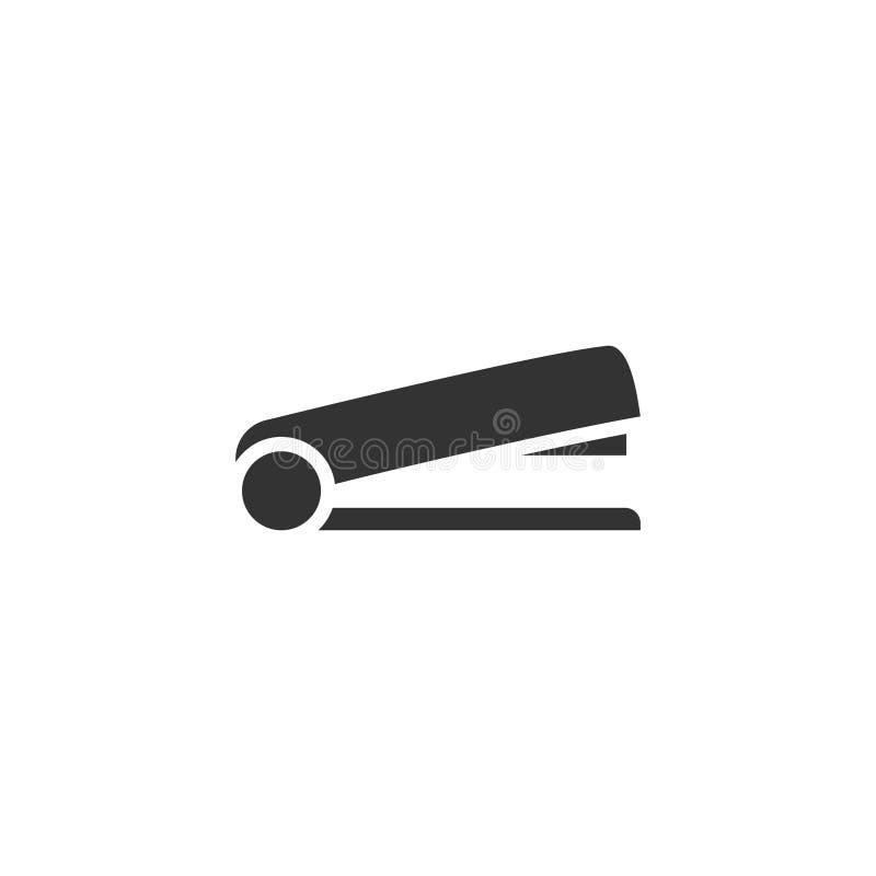 Häftsymbolslägenhet stock illustrationer