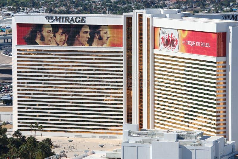 Hägringen, Las Vegas arkivfoton