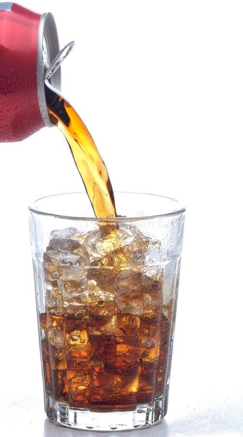 hälla för colaexponeringsglas royaltyfria bilder