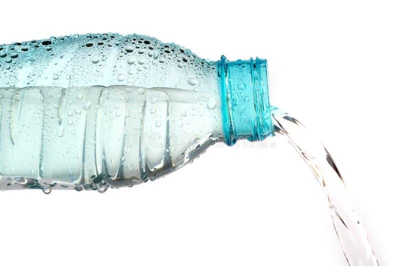 hällande vatten fotografering för bildbyråer