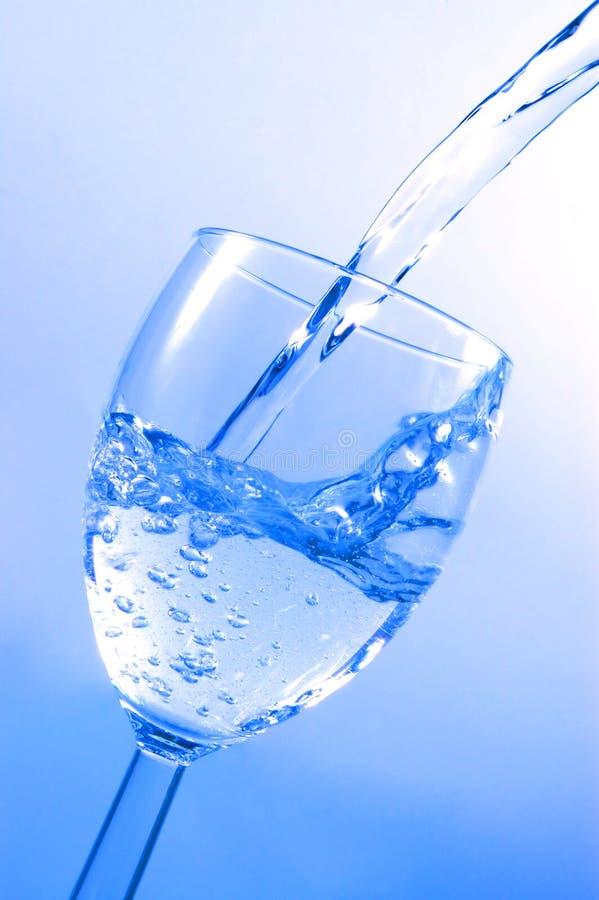 hällande vatten royaltyfri fotografi