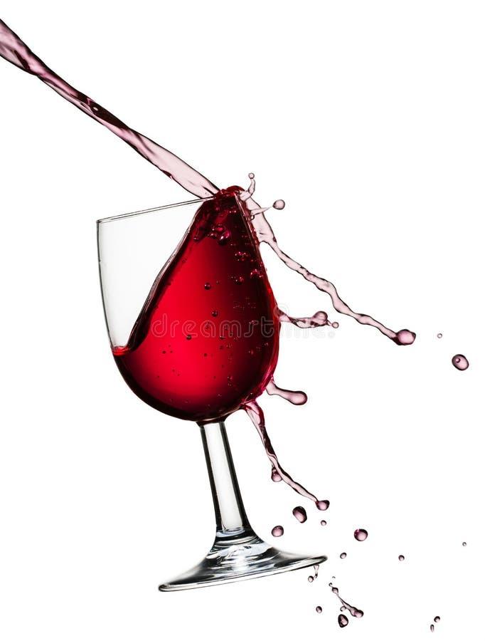Hällande vin royaltyfria bilder
