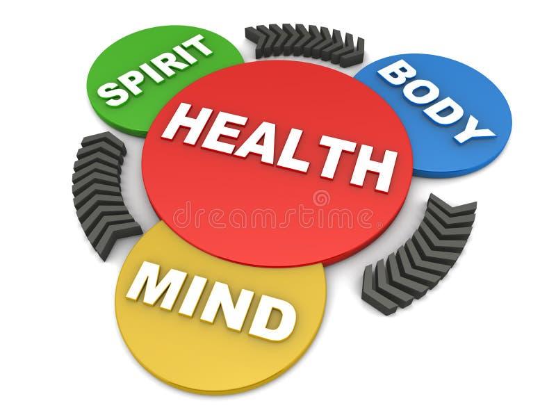 hälsa vektor illustrationer