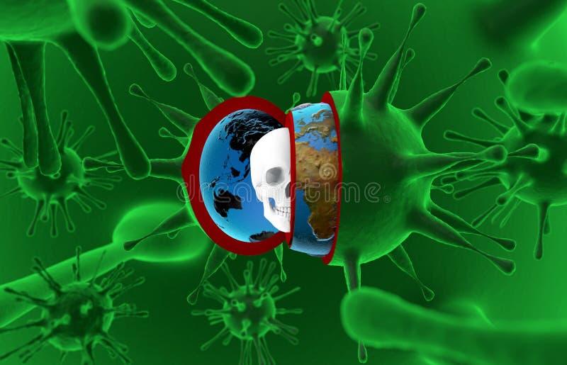 Hälsa epidemi, virus, ebola royaltyfri fotografi