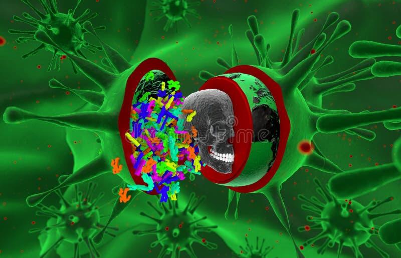 Hälsa epidemi, virus, ebola arkivfoto