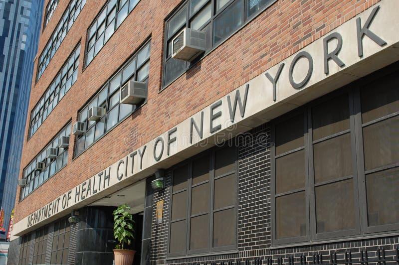 hälsa New York för stadsavdelning royaltyfri fotografi