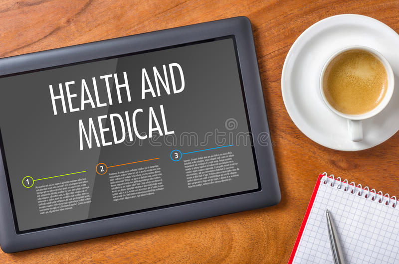 Hälsa och läkarundersökning royaltyfri fotografi
