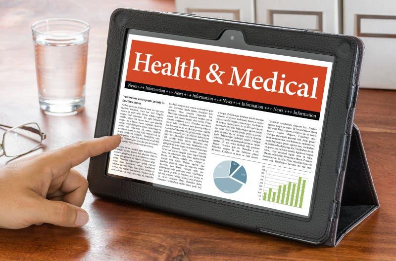Hälsa och läkarundersökning royaltyfri bild