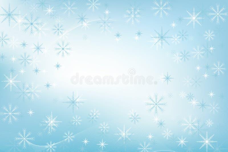 Hälsningkort 2019 för glad jul och för lyckligt nytt år med snöflingor Lyckligt nytt år 2019 Vektor för feriehälsningkort stock illustrationer