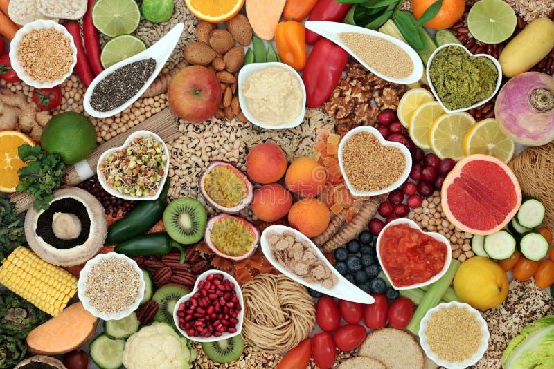 Hälsosam Vegan Super Food Diet fotografering för bildbyråer