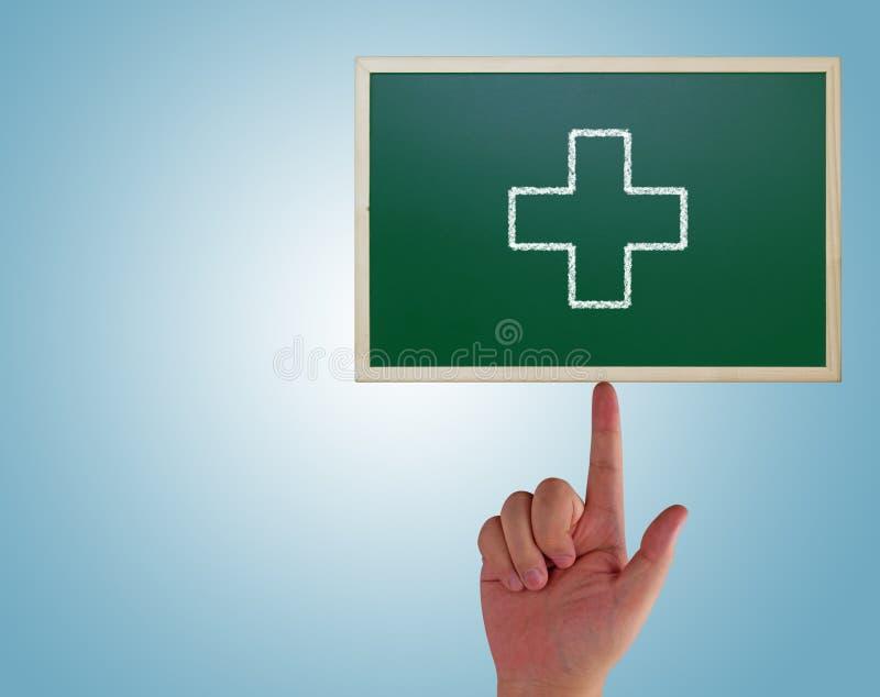 Hälsovårdbegreppsbakgrund royaltyfri bild
