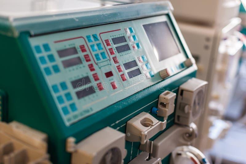 Hämodialyse stockfotografie